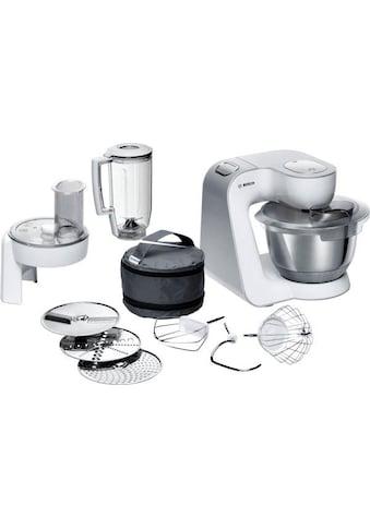 BOSCH Küchenmaschine »CreationLine MUM58W20«, 1000 W, 3,9 l Schüssel, vielseitig... kaufen