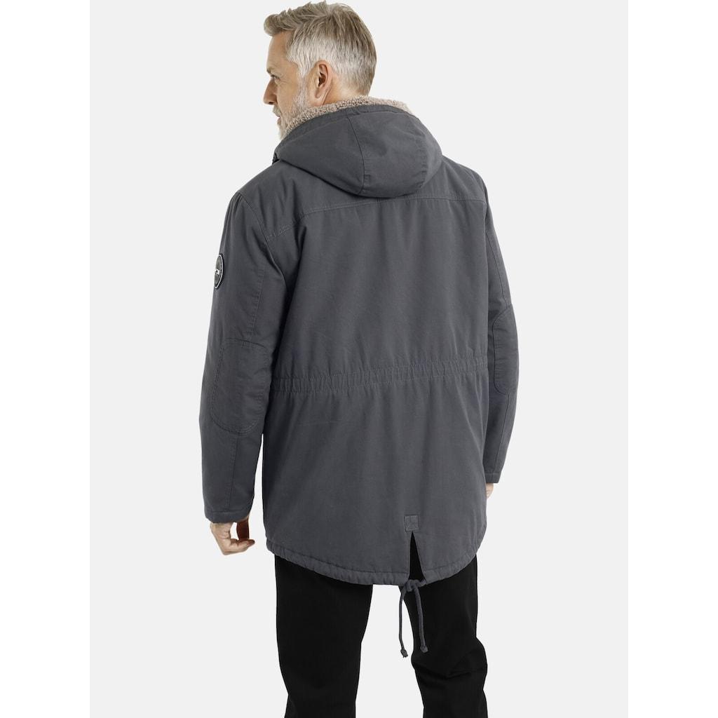 Jan Vanderstorm Parka »ISAK«, Winterjacke mit vielen Taschen