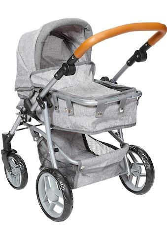 Knorrtoys® Kombi-Puppenwagen »Juna, stone brown« kaufen