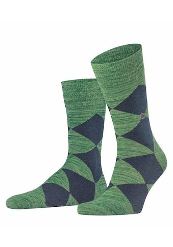 Burlington Socken »Multicolour Clyde«, (1 Paar), Baumwoll/Polyamid-Mix kaufen