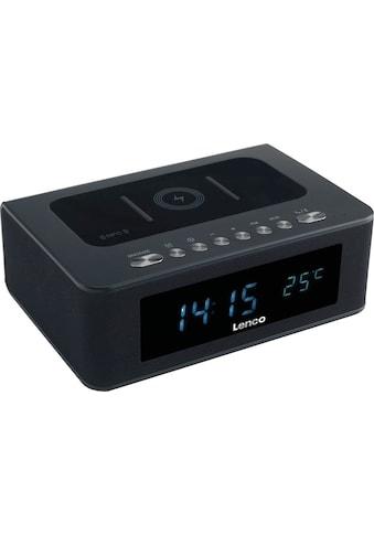 Lenco Radiowecker »CR-580«, (Bluetooth-NFC FM-Tuner 10 W) kaufen