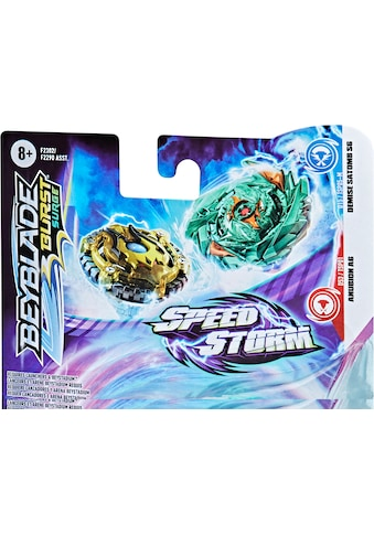 Hasbro Kreisel »Beyblade Burst Surge Speedstorm DEMISE SATOMB S6 AND ANUBION A6« kaufen