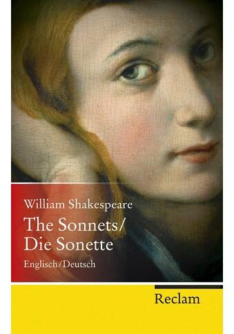 Buch »The Sonnets / Die Sonette / William Shakespeare, Gottlob Regis, Stefana Sabin« kaufen