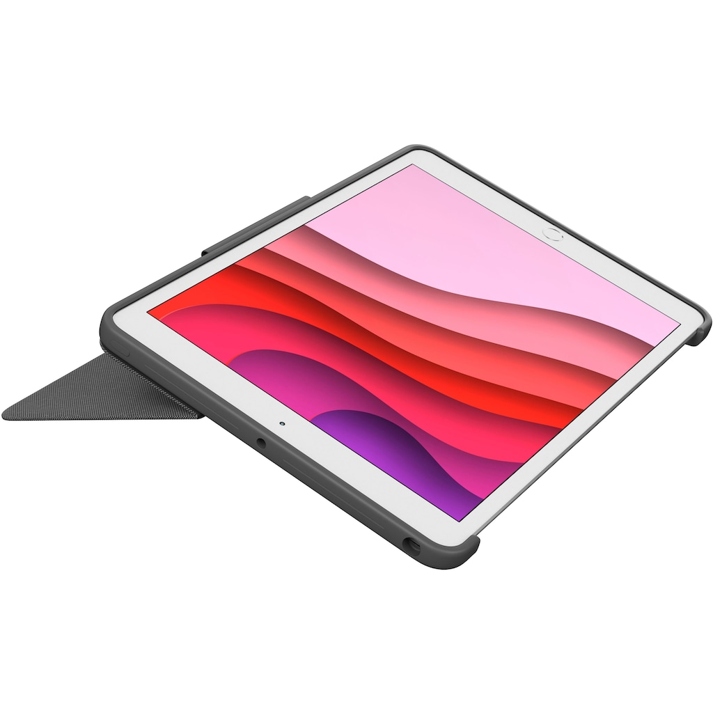 Logitech ergonomische Tastatur »Combo Touch«, (Touchpad)