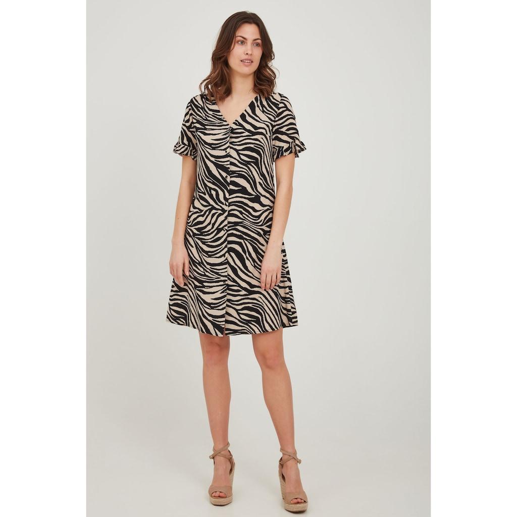 fransa Sommerkleid »Fransa Damen Kleid mit Druck«, Sommerkleid