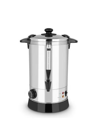 Klarstein Getränkekocher, ca. 40 Tassen, 30 – 110 °C, Edelstahl »Geysir« kaufen