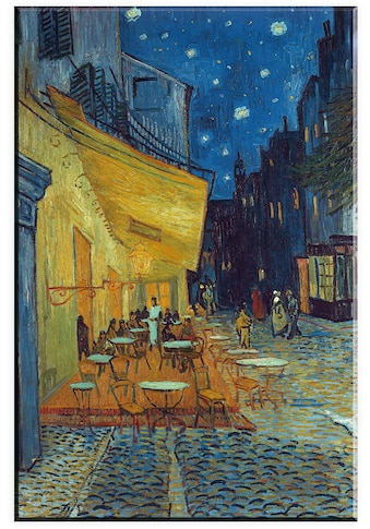 Home affaire Leinwandbild »Van Gogh, Cafe - Terrassen« kaufen