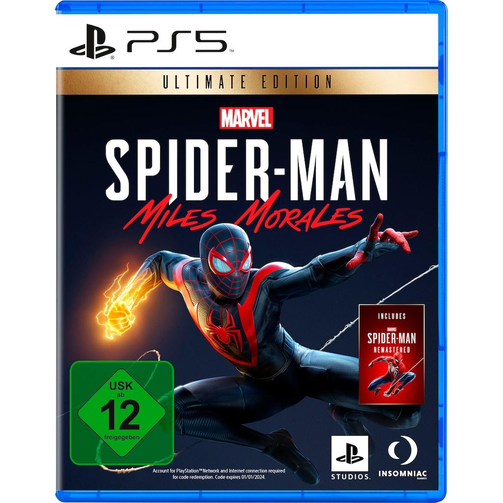 PlayStation 5 Spiel »Marvel's Spider-Man: Miles Morales Ultimate Edition«, PlayStation 5