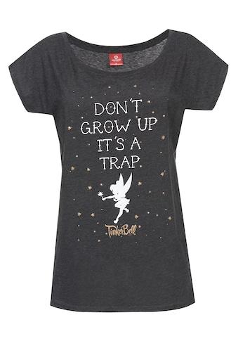 Disney T - Shirt »Tinkerbell Tinkerbell Don't Grow Up Girl« kaufen