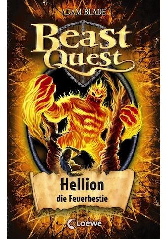 Buch »Beast Quest 38 - Hellion, die Feuerbestie / Adam Blade, Sandra Lojahn« kaufen