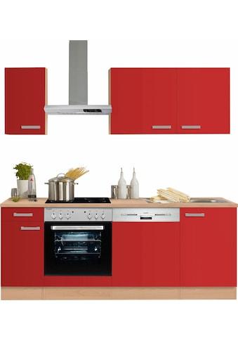 OPTIFIT Küchenzeile »Odense«, ohne E-Geräte, Breite 210 cm, mit 28 mm starker... kaufen