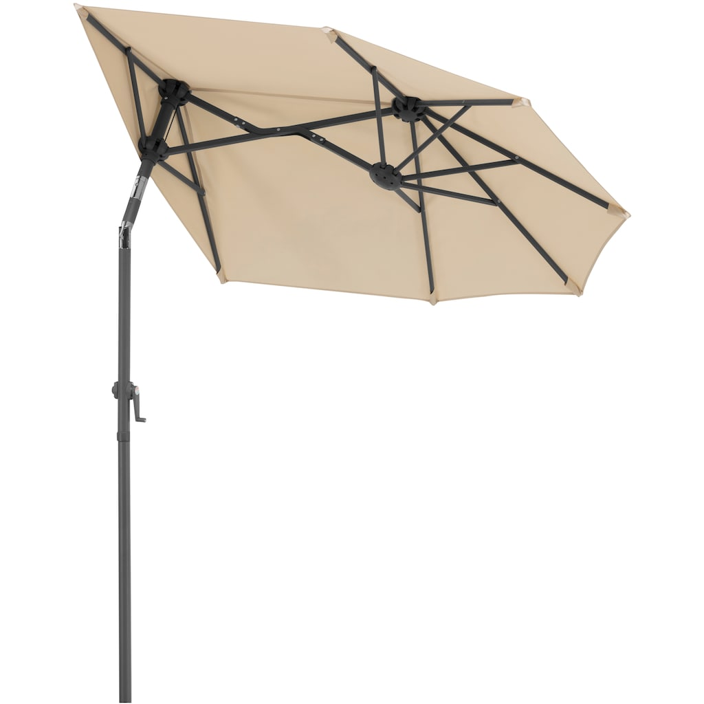 Schneider Schirme Balkonschirm »Salerno mezzo«, mit Schutzhülle, ohne Schirmständer