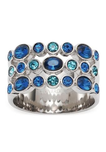 LEONARDO Fingerring »Ring Arabella, 018385, 018386, 018387, 018388«, mit Glasstein kaufen