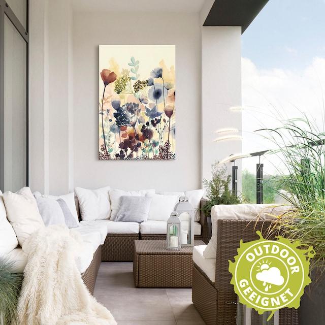 Artland Wandbild »Sonnengetrocknete Blüten I«