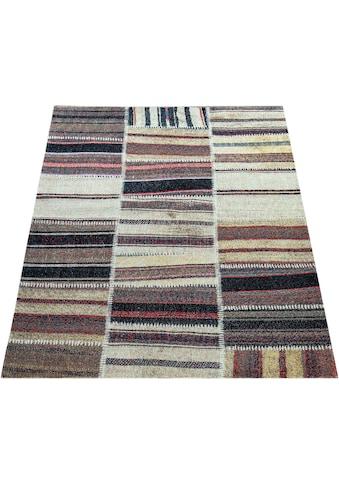 Paco Home Teppich »Artigo 400«, rechteckig, 4 mm Höhe, Kurzflor, In- und Outdoor geeignet, Wohnzimmer kaufen