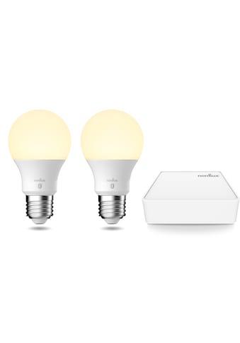 Nordlux LED-Leuchtmittel »Smartlight«, E27, 1 St., Farbwechsler, Smart Home Starter... kaufen