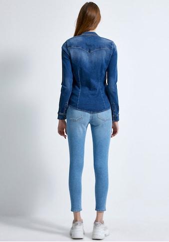 LTB Hemdbluse »LUCINDA«, mit aufgesetzten Brusttaschen für einen sportlichen Look kaufen