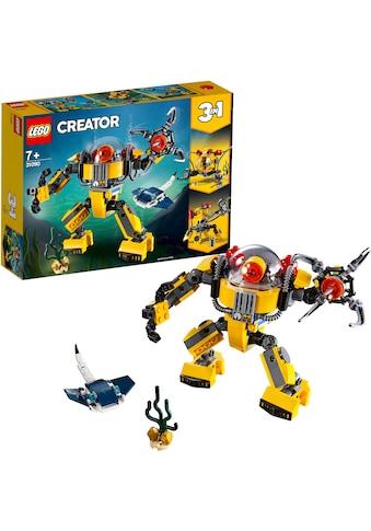 """LEGO® Konstruktionsspielsteine """"Unterwasser - Roboter (31090), LEGO® Creator"""", (207 - tlg.) kaufen"""