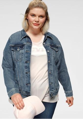 Levi's® Plus Jeansjacke »Boyfriend Trucker« kaufen
