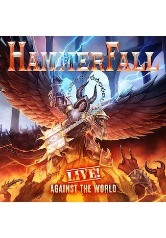 Musik-CD »Live! Against the World (2CD+BR Digipak) / Hammerfall« kaufen