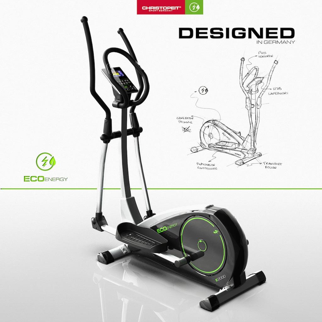 "Christopeit Sport® Crosstrainer-Ergometer »Eco 2000""«"