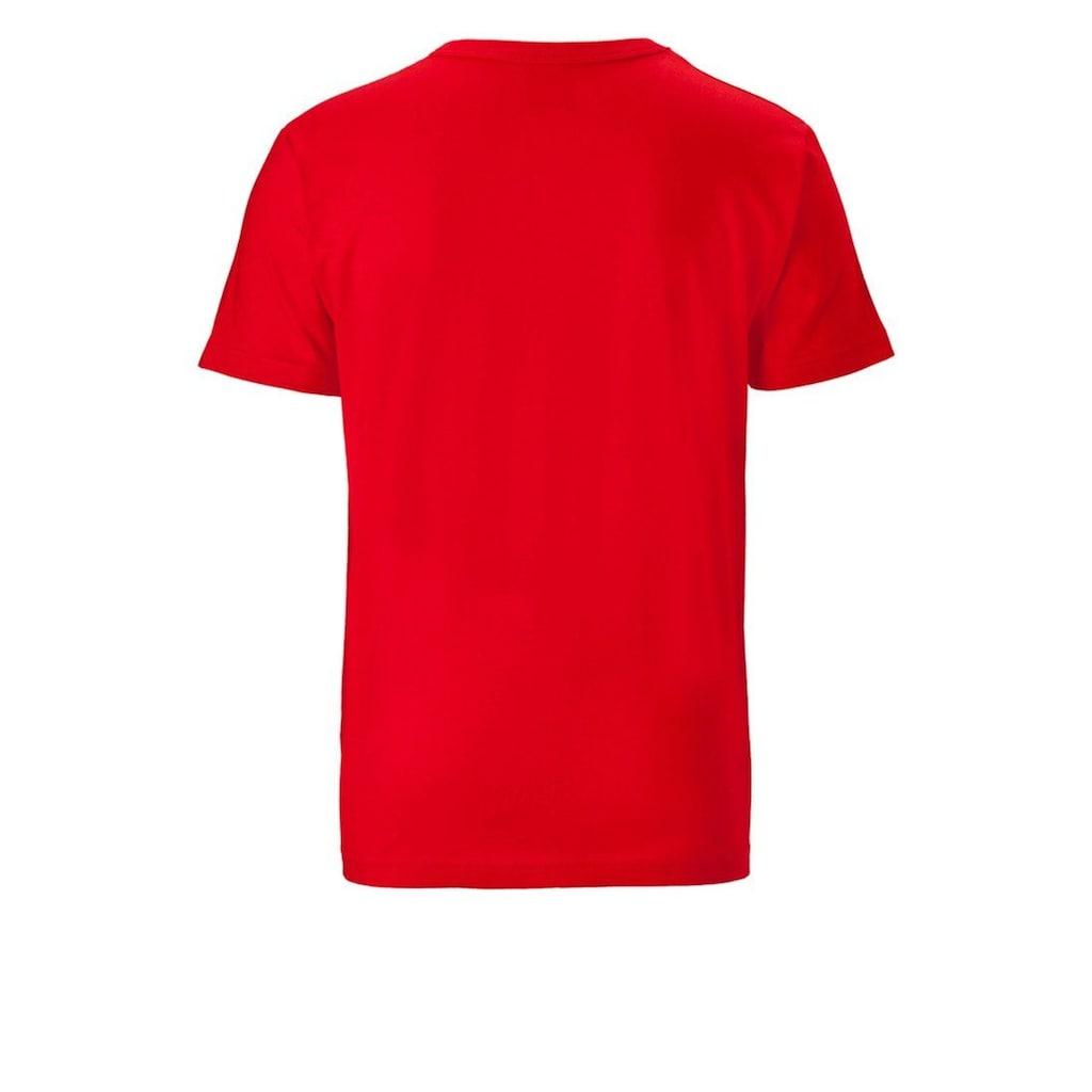 LOGOSHIRT T-Shirt mit coolem Bazinga-Frontdruck »Bazinga - The Big Bang Theory«
