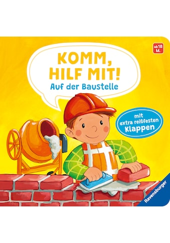 Buch »Komm, hilf mit! Auf der Baustelle / Emilie Jakobs, Sabine Kraushaar« kaufen