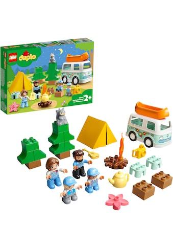 LEGO® Konstruktionsspielsteine »Familienabenteuer mit Campingbus (10946), LEGO® DUPLO®... kaufen
