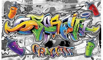 Consalnet Fototapete »Buntes Graffiti«, Motiv kaufen