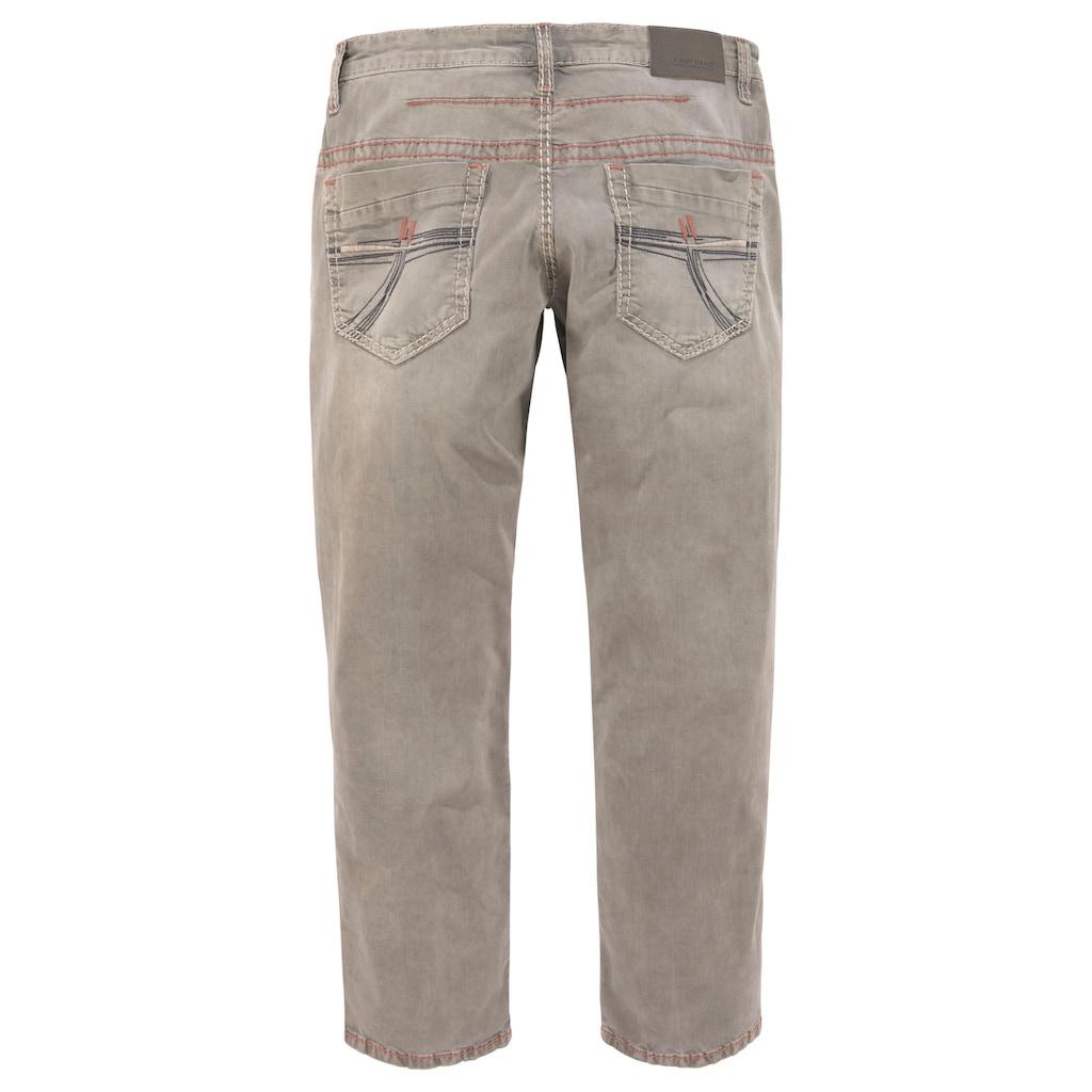 CAMP DAVID Loose-fit-Jeans »CO:NO:C622«, mit markanten Nähten