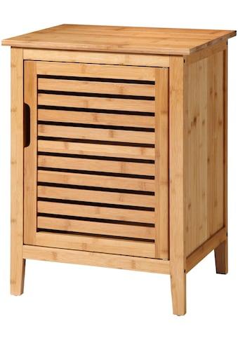 welltime Unterschrank »Bambus«, Breite 50 cm, aus natürlichem Bambus gefertigt,... kaufen