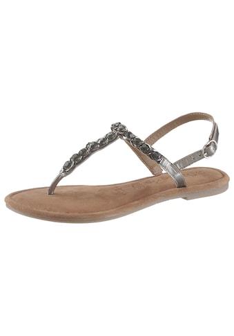 Silber Sandaletten im OTTO Online Shop kaufen