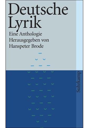 Buch »Deutsche Lyrik / Hanspeter Brode« kaufen