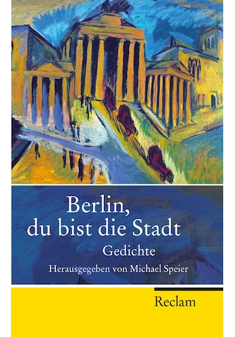 Buch »Berlin, du bist die Stadt / Michael Speier« kaufen