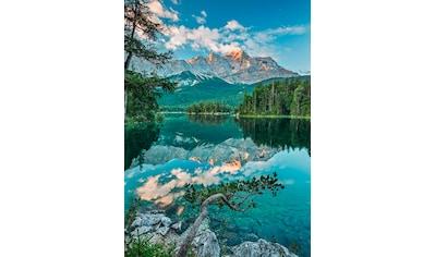 Komar Fototapete »Mirror Lake«, bedruckt-Wald-Meer, ausgezeichnet lichtbeständig kaufen