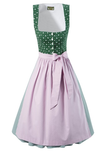 Love Nature Dirndl, (2 tlg.), midi mit traditionellem Mustermix - Made in Austria kaufen