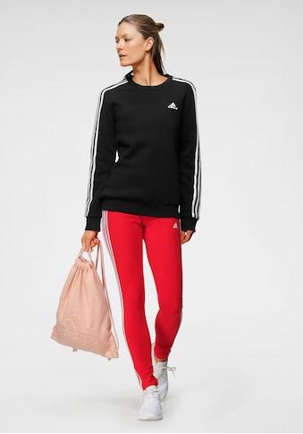 adidas Performance Sweatshirt »ESSENTIALS 3-STRIPES FLEECE SWEATSHIRT« kaufen
