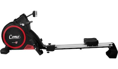 Christopeit Sport® Ruderzugmaschine »Como black edition«, Ruderschiene platzsparend hochklappbar kaufen