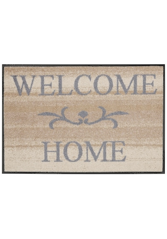 wash+dry by Kleen-Tex Fußmatte »Welcome Home«, rechteckig, 7 mm Höhe,... kaufen