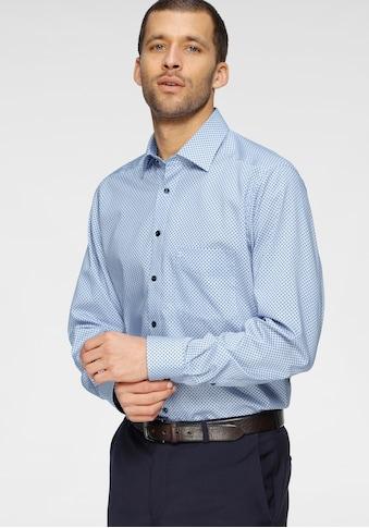 OLYMP Businesshemd »Luxor modern fit«, mit Minimalmuster, bügelfrei kaufen