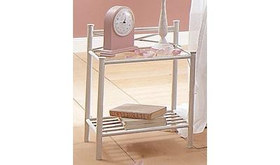 Home affaire Nachttisch »Thora«, aus einem schönem Metallgestell, mit einer... kaufen