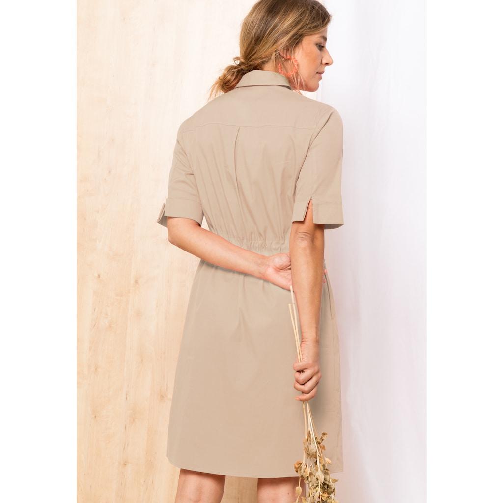 bianca Hemdblusenkleid »DORINE«, im Baumwollmix mit lässigen Eingriffstaschen