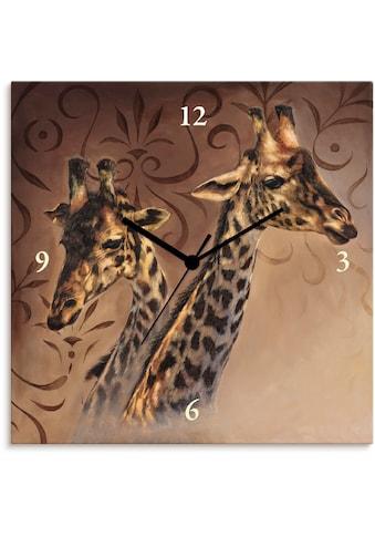 Artland Wanduhr »Giraffen« kaufen