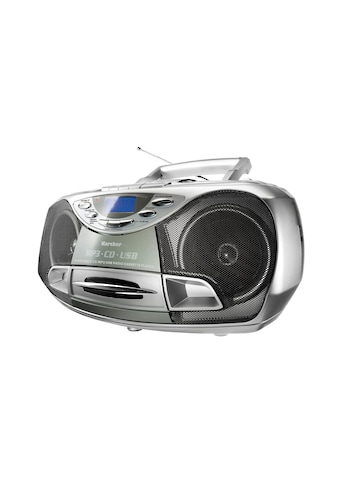 Karcher »RR 510(N)« Stereo - CD Player (Anti - Schock - Funktion) kaufen