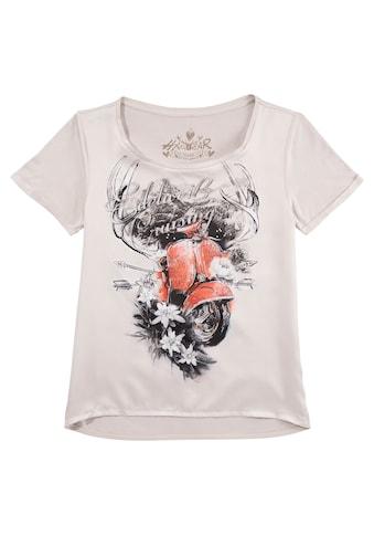 Hangowear Trachtenshirt, mit trendigem Motiv kaufen