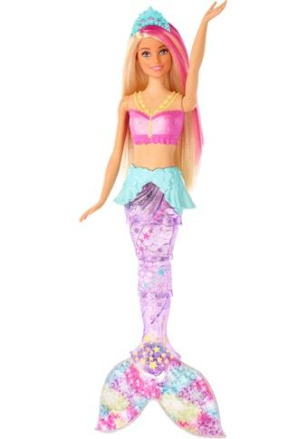 Mattel® Anziehpuppe »Barbie Dreamtopia Glitzerlicht Meerjungfrau, blond«, mit Lichteffekten kaufen