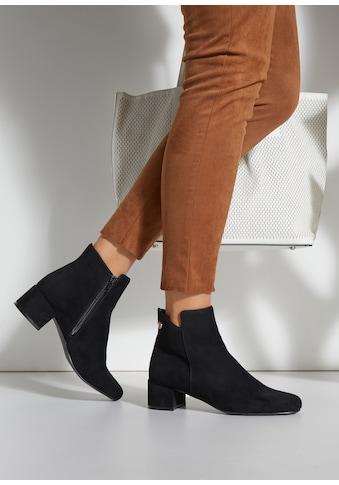 LASCANA Stiefelette, mit Blockabsatz im zeitlosen Design kaufen