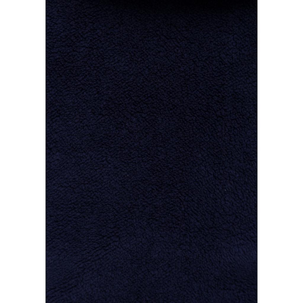 KangaROOS Kapuzenplüschjacke, aus kuscheligem Teddyfell
