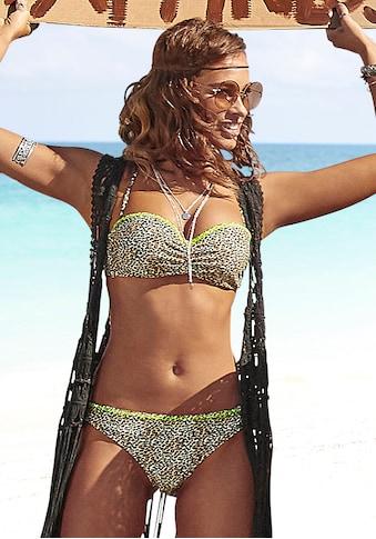 Buffalo Bügel-Bandeau-Bikini, mit neonfarbiger Ziernaht kaufen