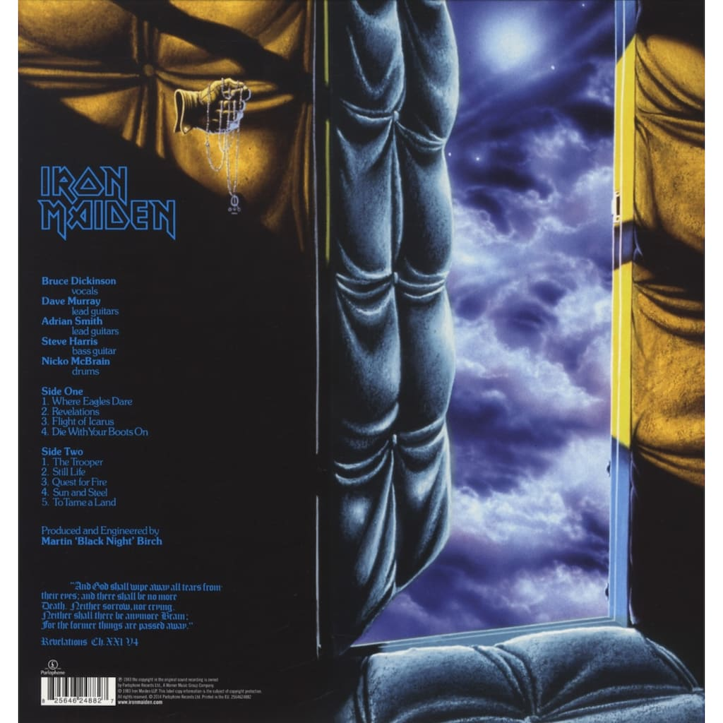 Vinyl »Piece Of Mind / Iron Maiden«